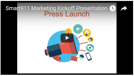 Recorded Marketing Kickoff slides